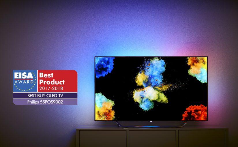 Televizorul Philips OLED 4K 9002, premiat la EISA, este disponibil în România din această lună