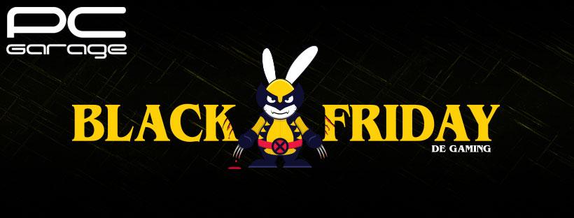 Black Friday de Gaming la PC Garage,  cu sute de produse la preț redus.