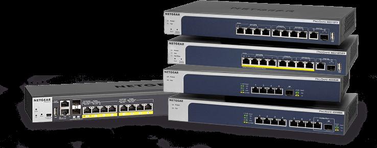 NETGEAR extinde portofoliul de switchuri 5-speed Multi-Gigabit, lansând modelele de 12 şi 24 porturi