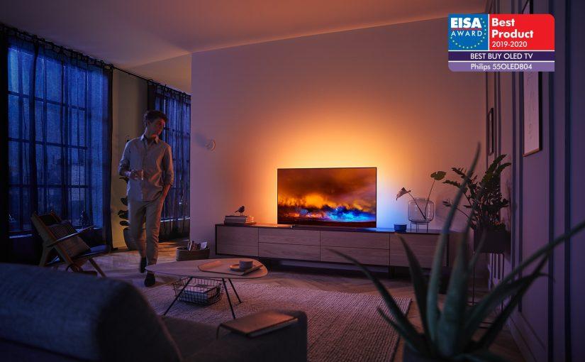 Televizoarele Philips OLED câștigă premiile EISA pentru al treilea an consecutiv